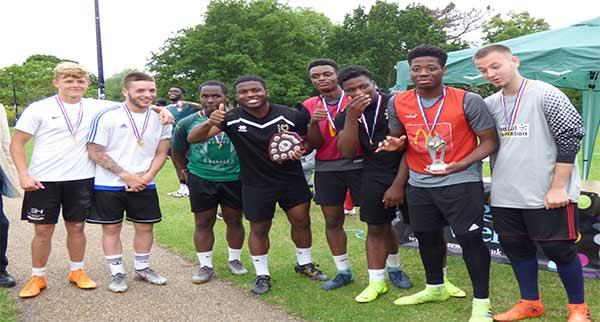 Refugee Football Tournament Russell Park