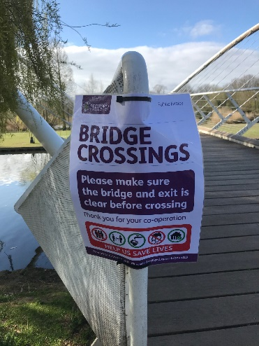 Bridge Crossings Poster
