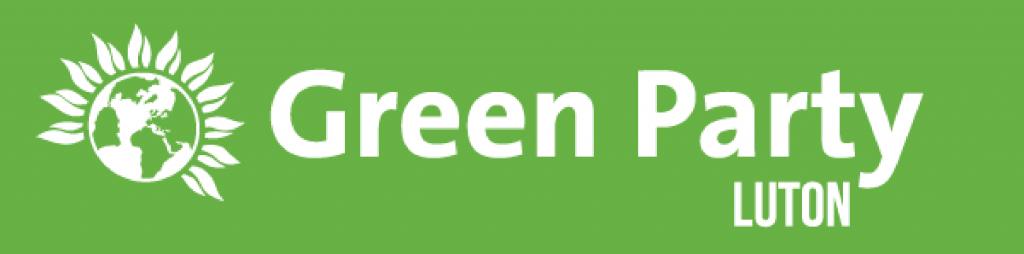 Luton Green Party Branding Image