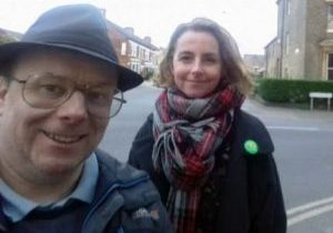 Lucy and Ben in Castle Ward